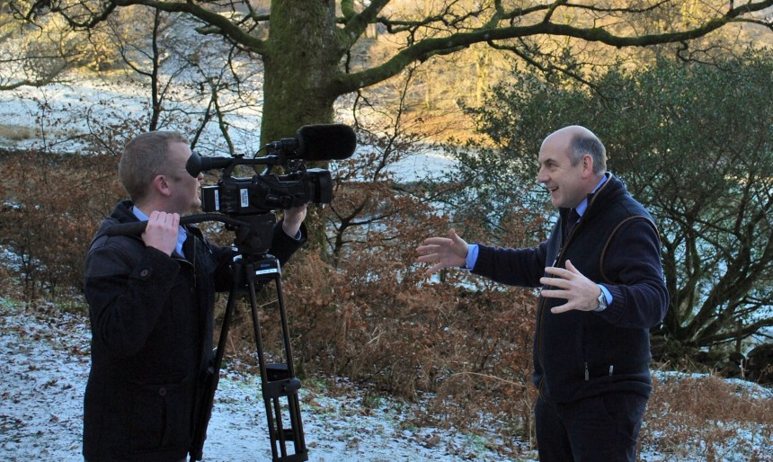 Henry Wild explains to ITV why he believes Cumbria's holiday parks have experienced a triumphant tourism year