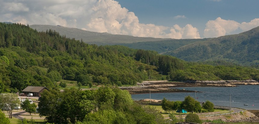 Praised by botanist David Bellamy, this Highland park first opened its idyllic location to campers fifty years ago