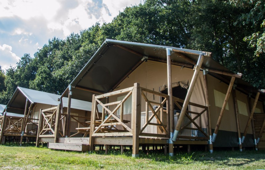 Luxury camping without the flap of putting up a tent: Skelwith Fold's stress-free option for Cumbria visitors