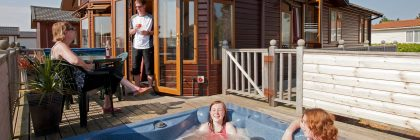 Five-star holidays, including luxury lodges with private hot-tubs, helped secure the top spot for Searles Resort