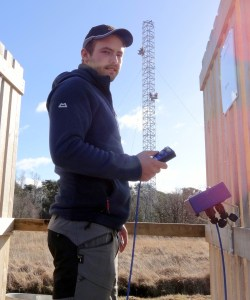 Scotland's highest clay shooting tower is a major feature