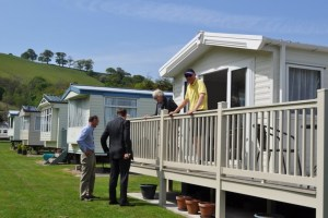 David Jones MP met with holiday home owners on his visit