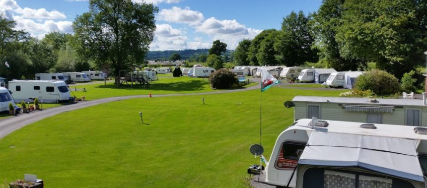 Erwlon Caravan and Camping Park's spotless facilities and warm welcome for guests helped to clinch the award