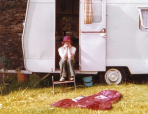 Flashback to the Seventies with Margaret taking things easy