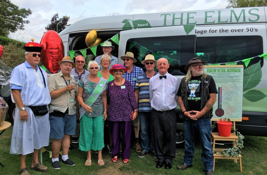 Just over £1,200 raised from the minibus gala day will help keep residents mobile throughout the coming year