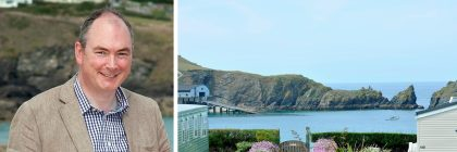 Patrick Langmaid's Mother Ivey's Bay Holiday Park has been acclaimed for its ethical employment policies