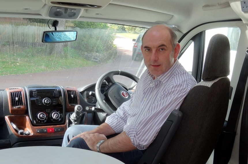 Driving up environment-friendly tourism: Henry Wild says motorhome guests are big users of green transport