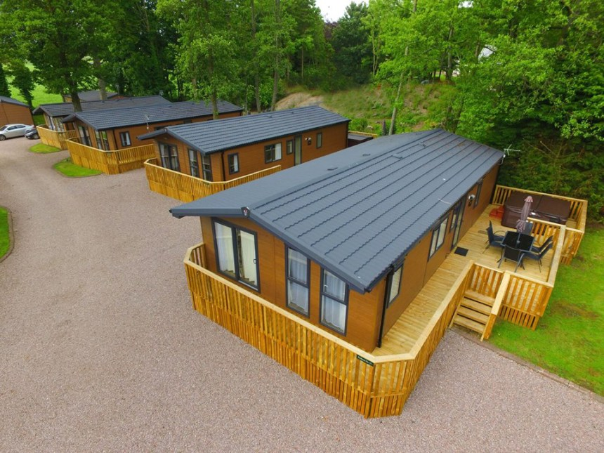 Mouswald Lodge Park is a perfect base for relaxation said award judges