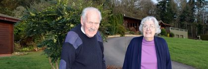 """Ken and Janet Davies have been running the park for over 50 years using """"sustainability"""" as their watchword"""