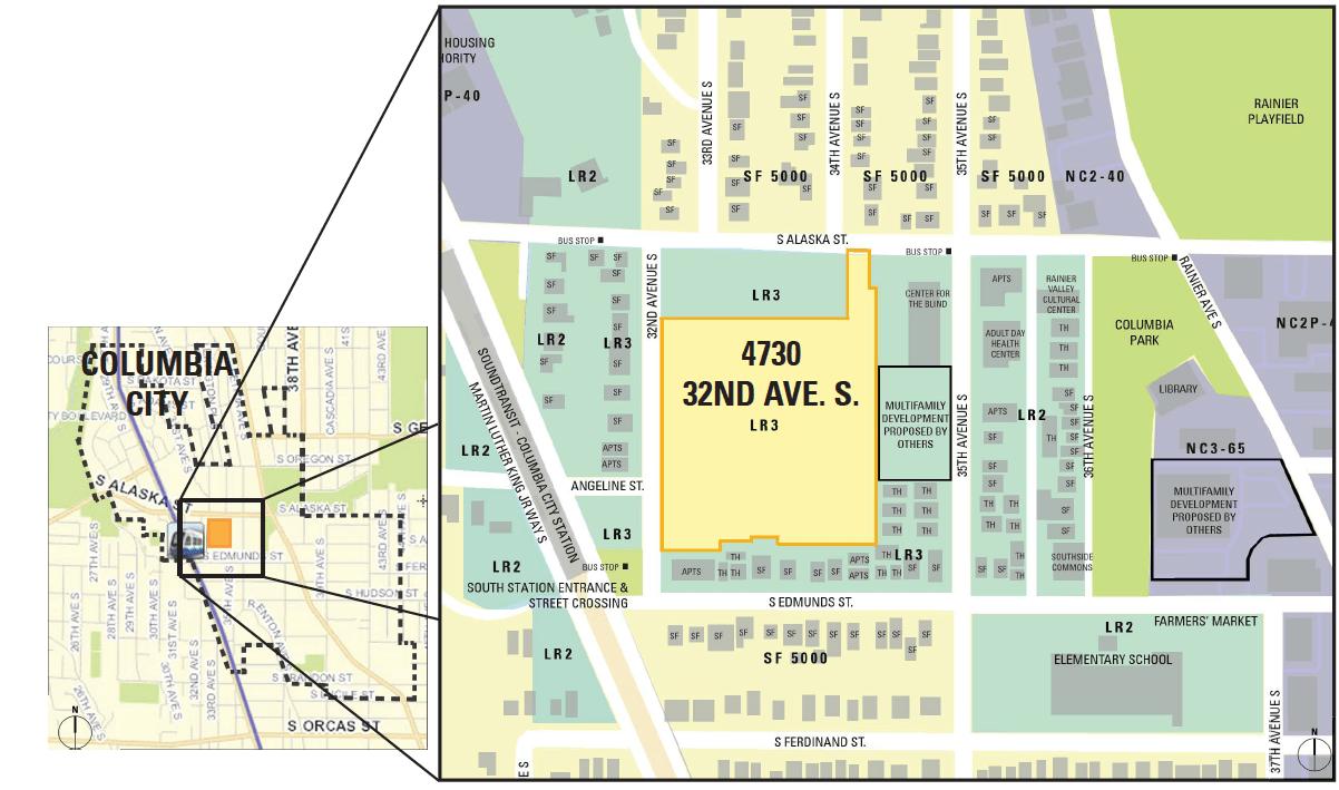 Columbia City Map