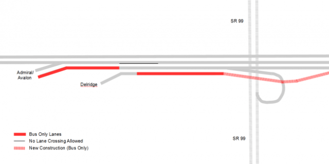 Proposed West Seattle Bus Lanes