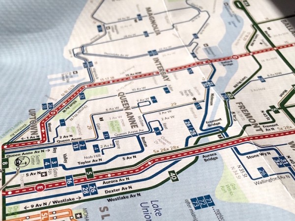 The Seattle Transit Map and Guide