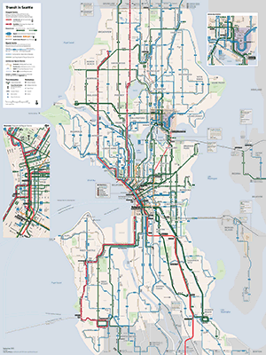 thumbnail of the map to illustrate network