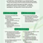 Syarat Pendaftaran dan Program Promosi 2016-2017