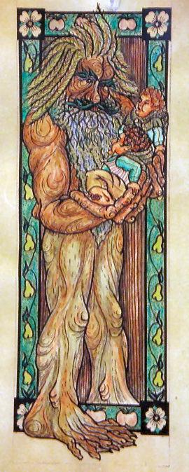 An Ent. Treebeard artwork by Ttthom Tom Loback CC b SA3.0 cc by 2.5