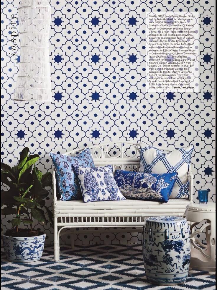 Black And White Wallpaper Decor Shopping St Barts Australia