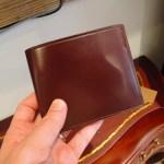 ココマイスターのコードバンの財布は国産の皮革を使用