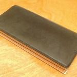 コードバンの長財布の評判