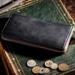 ココマイスターのコードバンのラウンドファスナー長財布が発売!