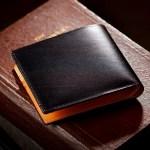 アルバートカーフの二つ折り財布 マーシャルパース