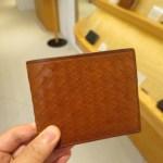 ボッテガヴェネタ風の二つ折り財布を見てきたよ