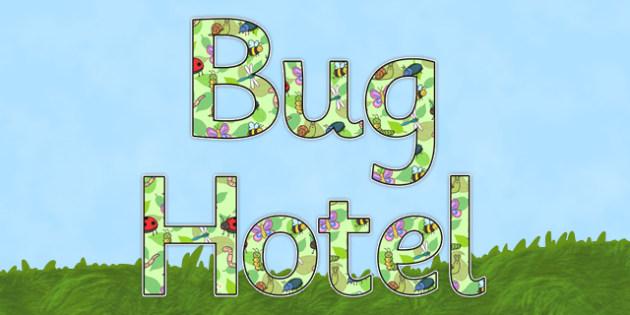 Bug Hotel