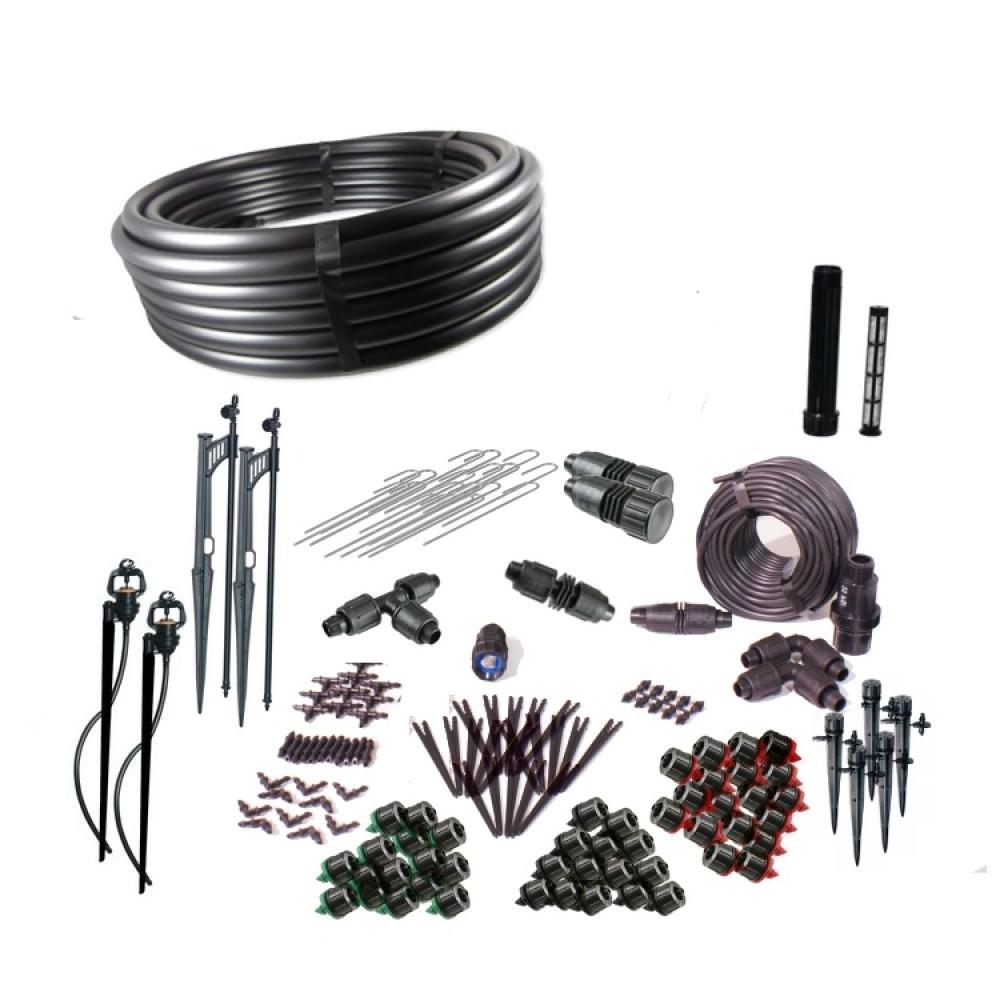 Standard Drip Irrigation and Microsprinkler Kit for Landscapes