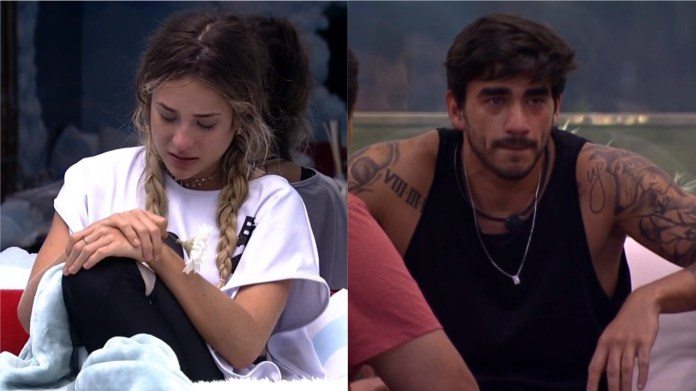 Gabi is not satisfied in her relationship with Guilherme who started at BBB (Photo: Reproduction / GloboPlay)