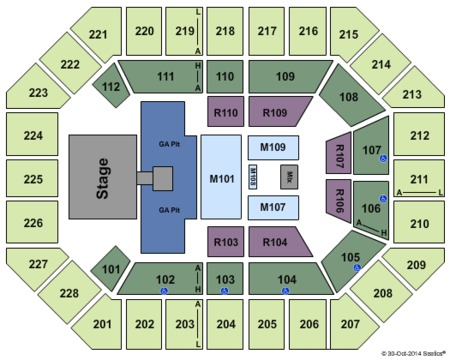 Seating Chart Us Cellular Center Cedar Rapids Brokeasshomecom - Us cellular center seat map