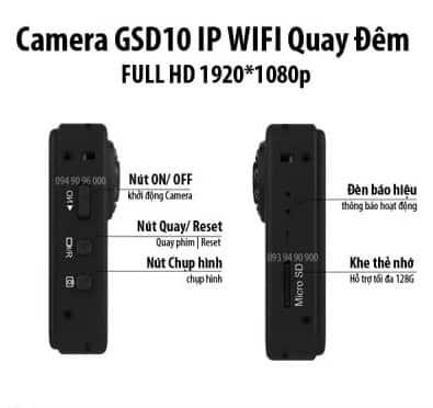 Camera mini giá rẻ GSD10