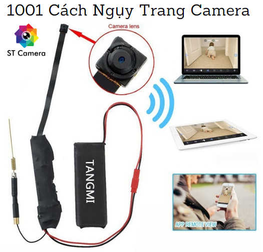 Cách ngụy trang camera hiệu quả - ST Camera