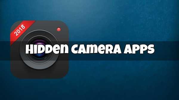 Ứng Dụng Camera Bí Mật Hidden Camera