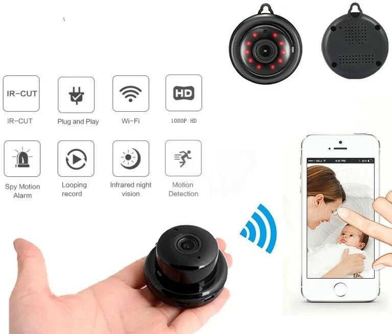 Camera siêu nhỏ điều khiển từ xa H960