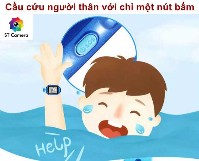 Đồng hồ thông minh trẻ em có chức năng SOS