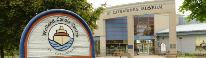 The entry to the St. Catharines Museum and Welland Canals Centre