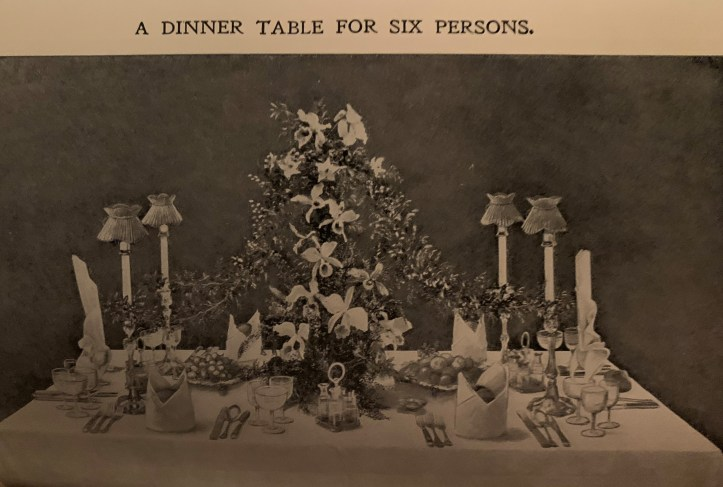 Illustration 116 of a dinner setting for 6 people