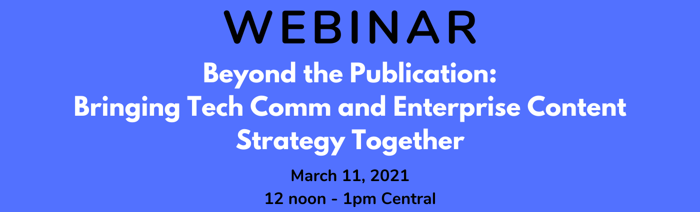 WEBINAR – Beyond the Publication