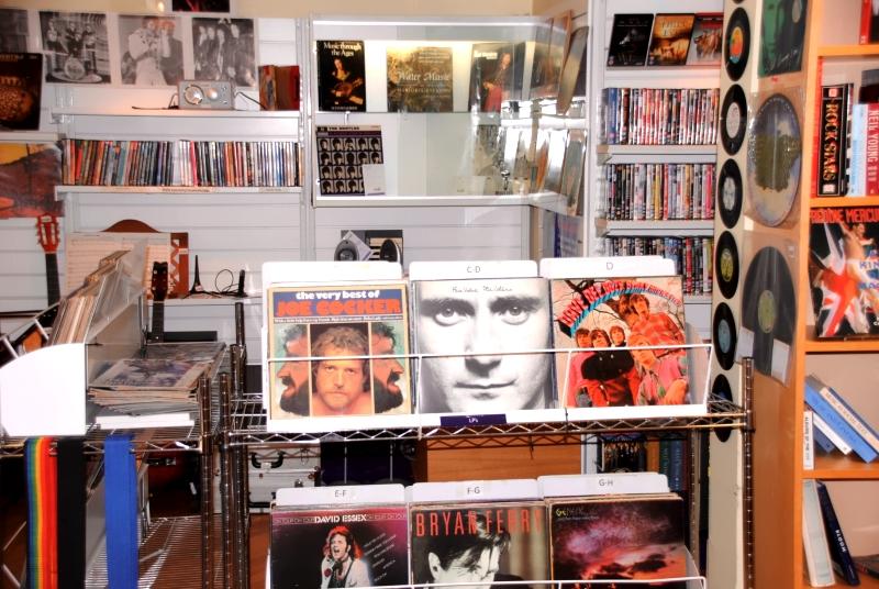 Bishop's Stortford Shop vinyl