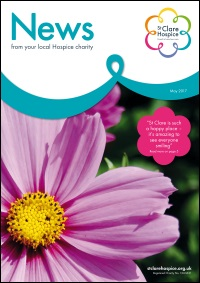 The front cover of the May 2017 Newsletter