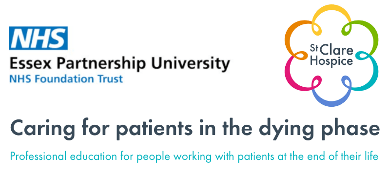 Caring for patients in the dying phase