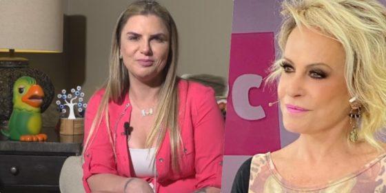 Ana Maria Braga fala do novo Louro José a meio de entrevista a Alessandra Veiga (reprodução fotográfica)