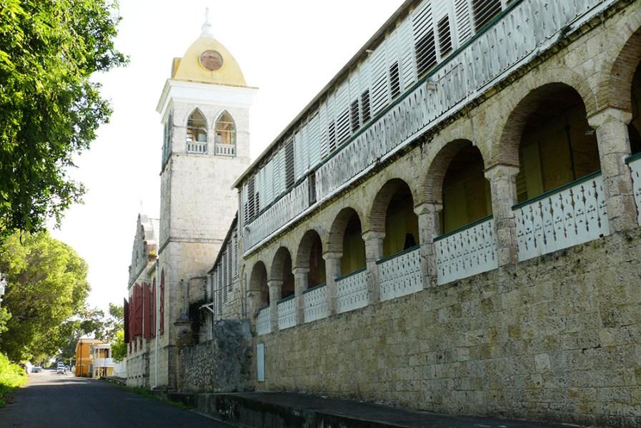 St. Patrick Church, Frederiksted, St. Croix. (Bill Kossler photo)