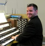 Gary Forbes at the organ