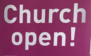 Church Open!