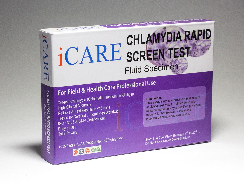 iCare Rapid Chlamydia Test Kit – STD Rapid Tests