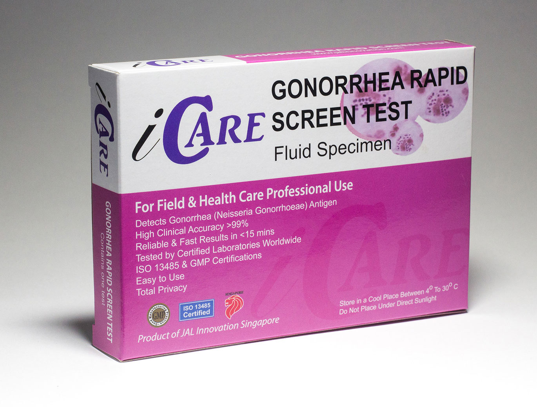 iCare Rapid Gonorrhea Test Kit – STD Rapid Tests