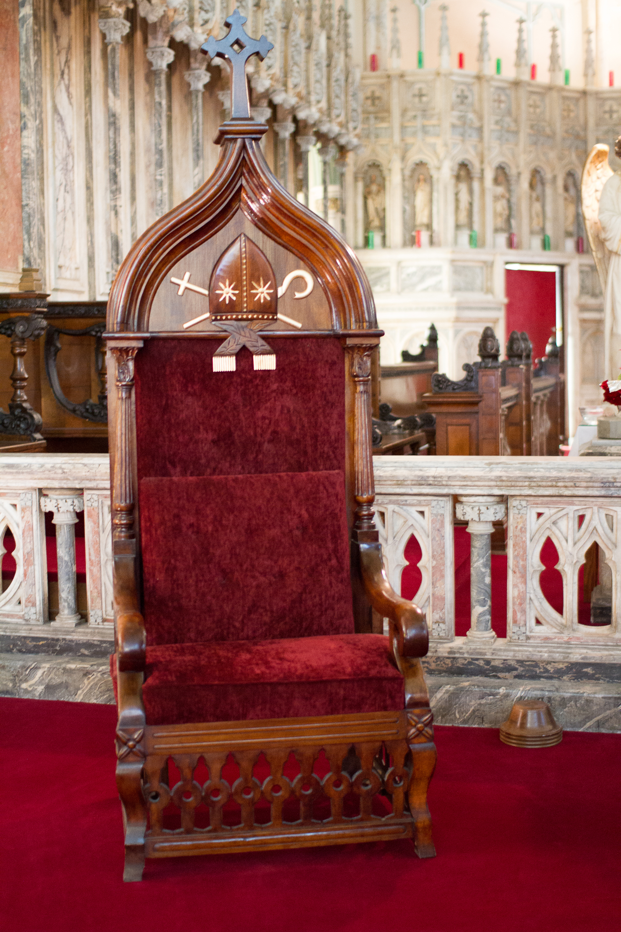 Bishop's Chair Church Photos St Dunstans Basilica Parish