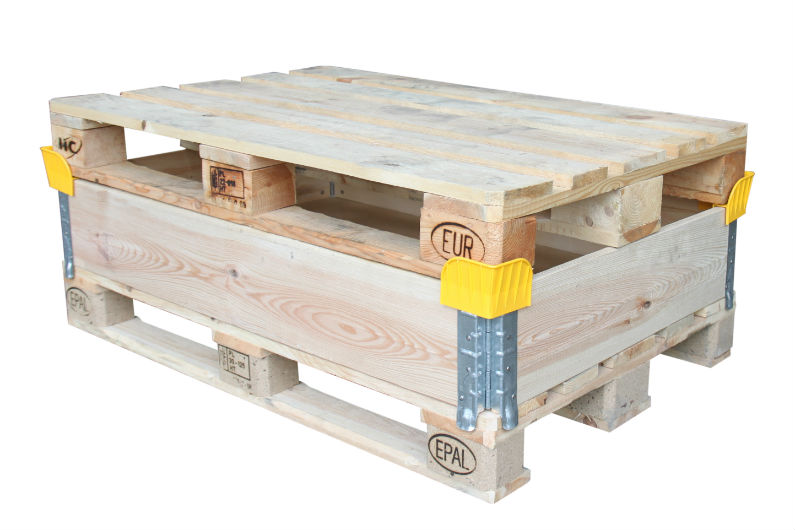 Nye pallerammer til EUR-paller