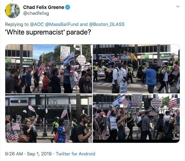 AOC CALLS STRAIGHT PRIDE PARADE 'WHITE SUPREMACIST PARADE'…BUT PICTURES DON'T LIE