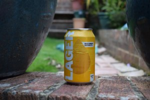 Can of Big Drop Lager